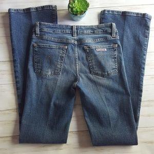 "Hudson Jeans bootcut medium wash sz 27"" X 32""fraye"